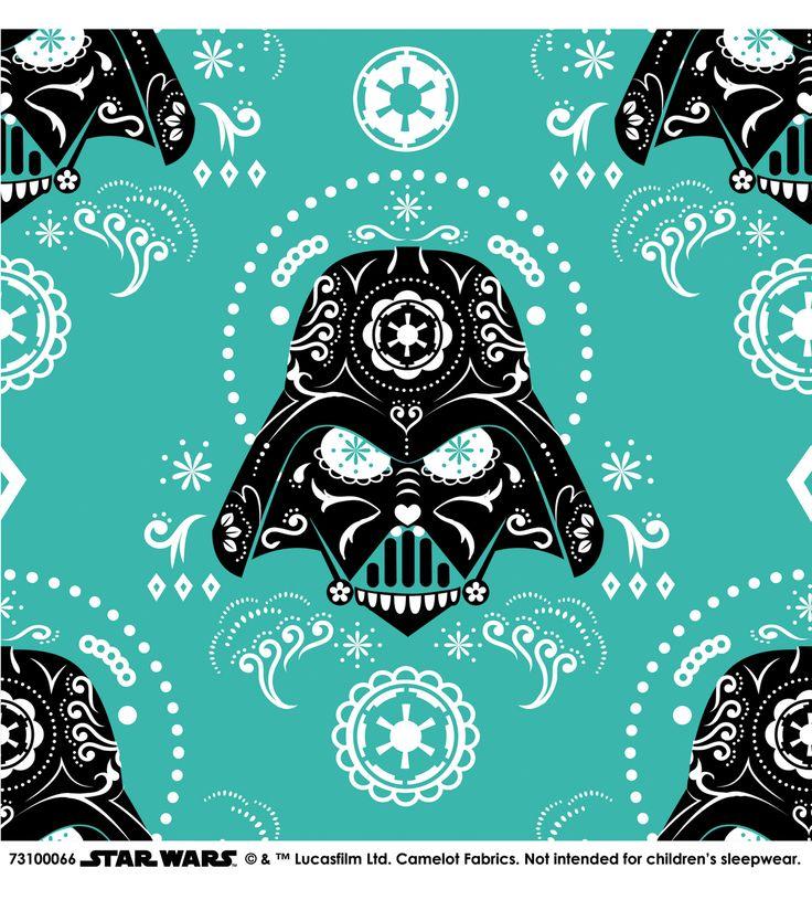 I am thinking I need to make a skirt out of this Star Wars™ Darth Vader Sugar Skulls Cotton Fabric