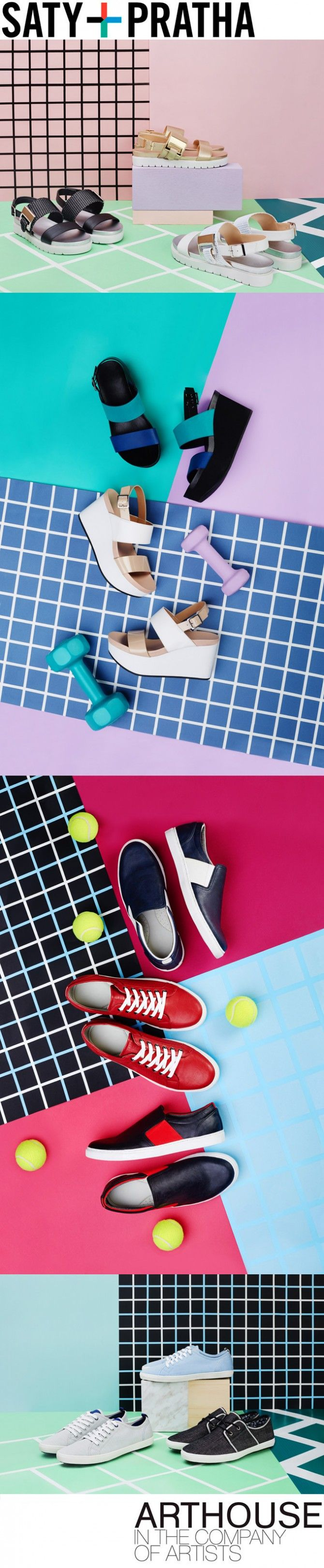 Saty+Pratha shoot Aldo's Call It Spring SS15 line. Featured here are a few images from the sporty spring collection!