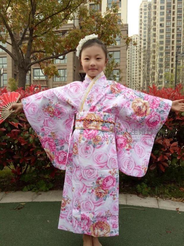 8f540b5a3 Children's Japanese Kimono Sakura Festival | Kimono | Japanese | japan |  attire | fashion