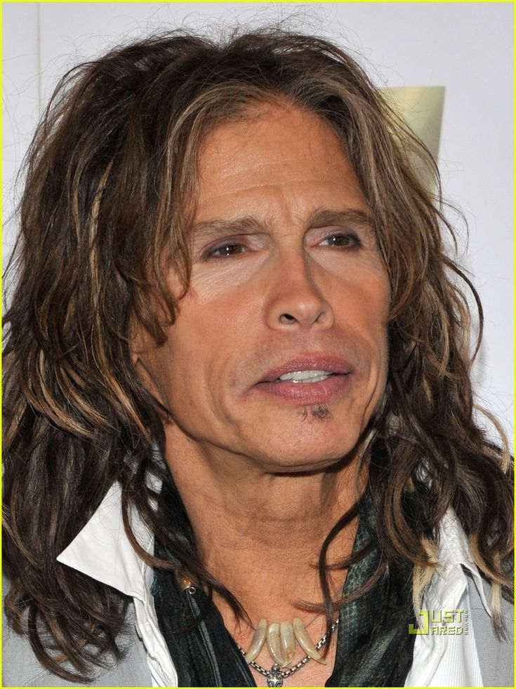 Steven Tyler ~ he is C.O.O.L! and a very sweet man :) i was amazed at the song he sang once to his father <3