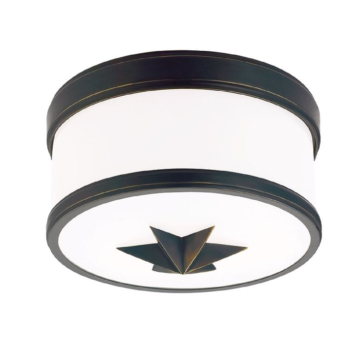the seneca flush mount comes in an old bronze finish and an opal shade this fixture is made of metal material and has a shade made of glass material
