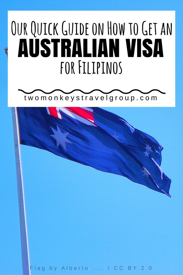 Our Quick Guide on How to Get an Australian Visa for Filipinos Australia is an extremely efficient country that you won't have difficulty getting an Australian visa from The Philippines. For starters, the entire application process for Filipinos is online – very easy, simple, and convenient. It is a task you can certainly do yourself, which is a lot welcome if you are trying to avoid extra fees from outside facilitators.