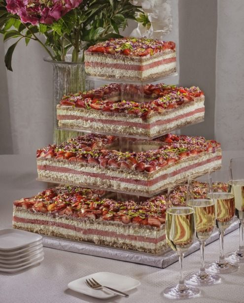 Cheese Tower Cake Sydney