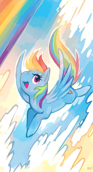 My Little Pony: Friendship is Magic! Rainbow Dash! Shmeck yeah!