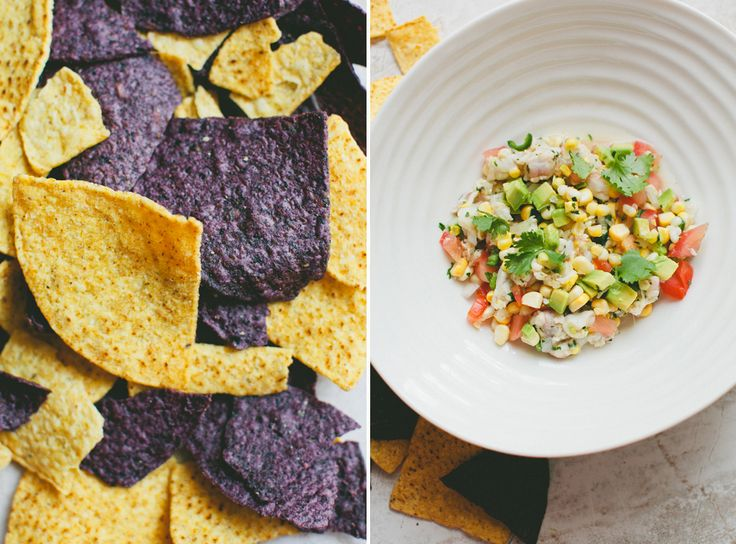Shrimp + Sweet Corn Ceviche | Mexican Food. | Pinterest