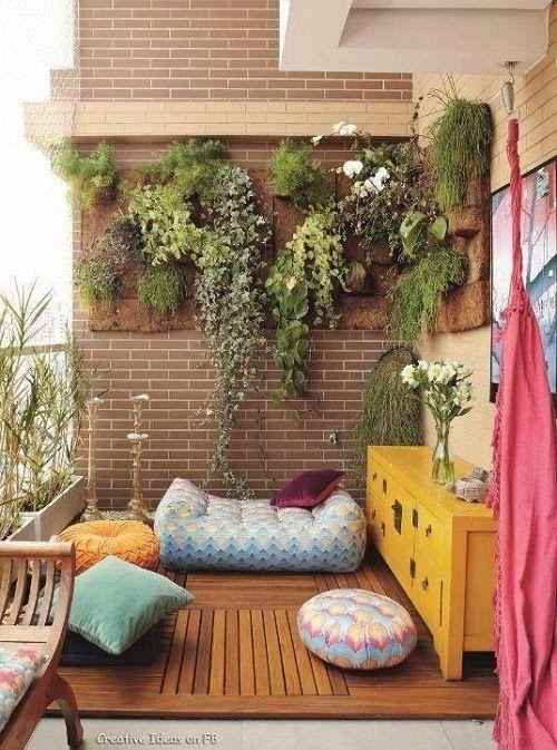 Boho Patio :: Backyard Gardens :: Courtyard + Terraces :: Outdoor Living  Space :: Dream Home :: Decor + Design :: Free Your Wild :: See More  Bohemian Home ...