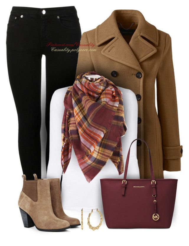 Untitled #1694 by casuality on Polyvore featuring T By Alexander Wang, Lands' End, MM6 Maison Margiela, Sole Society, Michael Kors and Betsey Johnson