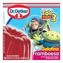 Pó para gelatina DR OETKER framboesa caixa 30g