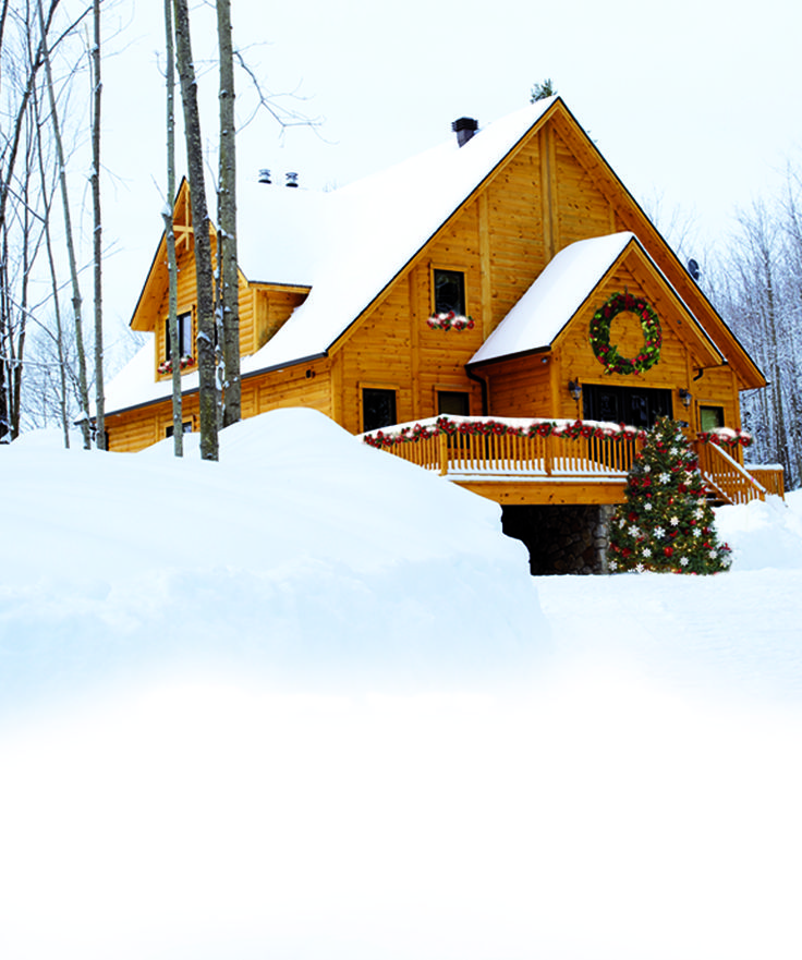 Top 9 Ideas About Christmas Homes Timber Block