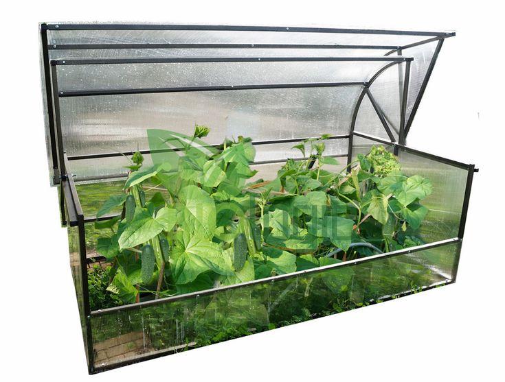 Kweekkas Novator Maxi met Polycarbonaat Actual Bio  De Novator Maxi kweekkas is de absolute nummer één van de kassen in de tuinbouw. De kas neem relatief weinig ruimte in beslag maar biedt heel veel plek aan de (hobby)tuinder die hoge eisen stelt aan een tuinkas. Het stevige metalen frame zorgt er bovendien voor dat de constructie staat als een huis en de meest barre weersomstandigheden kan weerstaan. Precies wat je zoekt als je je planten wilt beschermen. Het frame van de Novator Maxi…