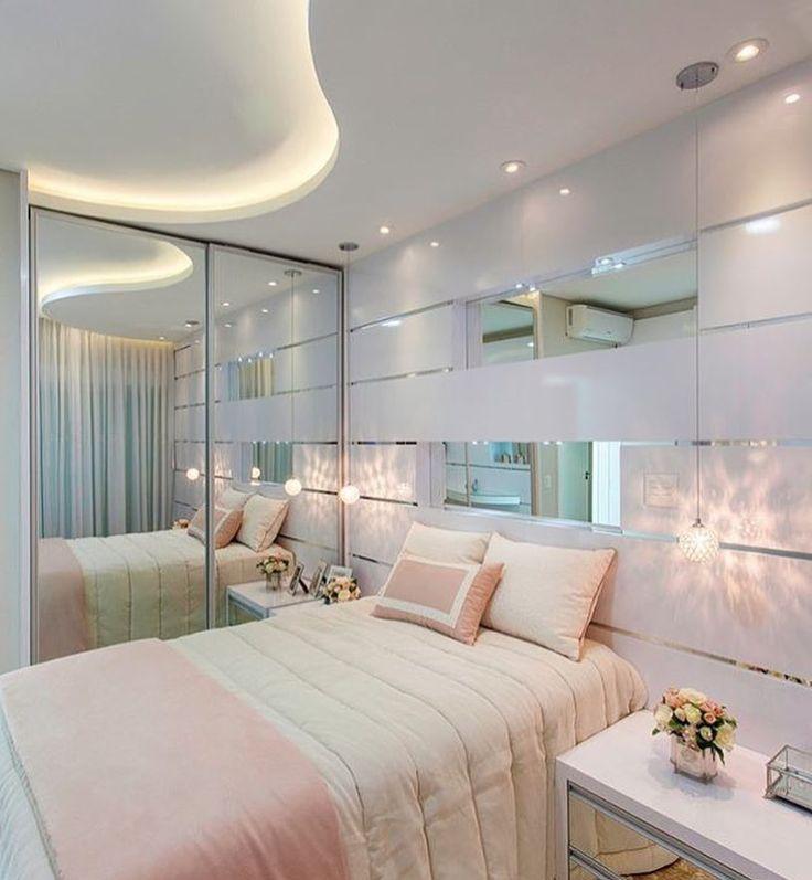 """97 curtidas, 2 comentários - meuap41 (@meuapto41) no Instagram: """"Inspiração de um quarto clean puro luxo. Super bom gosto. #decoracao #decorando #decor…"""""""