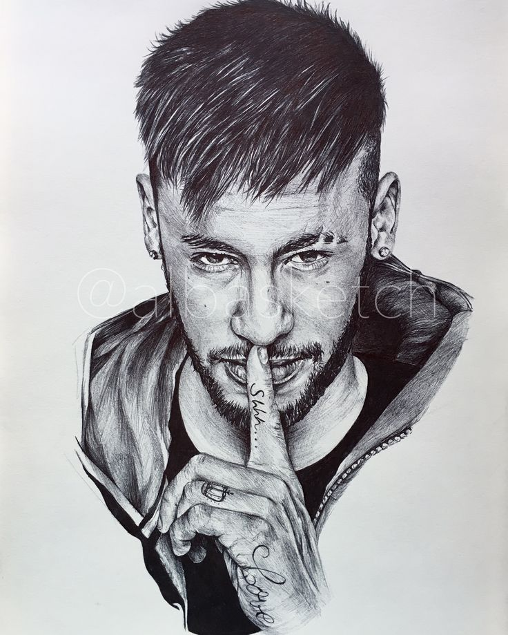 Neymar Jr by albasketch #draw #drawing #illustration #art #artist #sketch #sketchbook #Neymar #Neymar #Neymarjr #Njr #albasketch