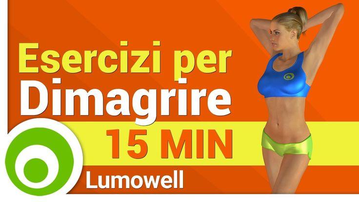 Esercizi per Dimagrire per le Donne - YouTube