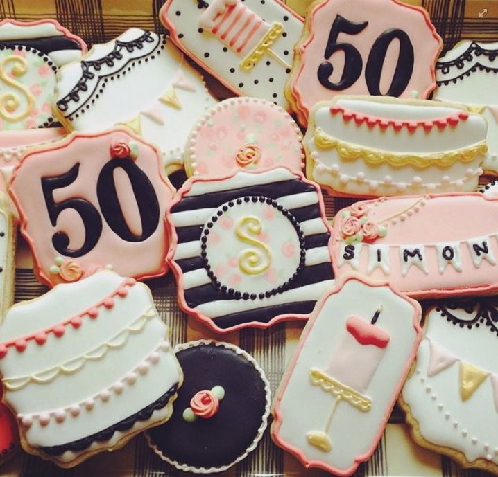 228 Best Cookies For Birthdays Images On Pinterest