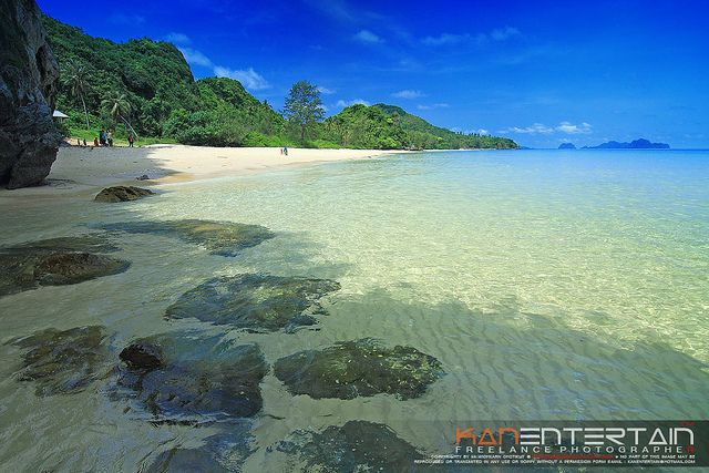 Amazing unspoilt beaches of Pathiu, Chumphon, Thailand