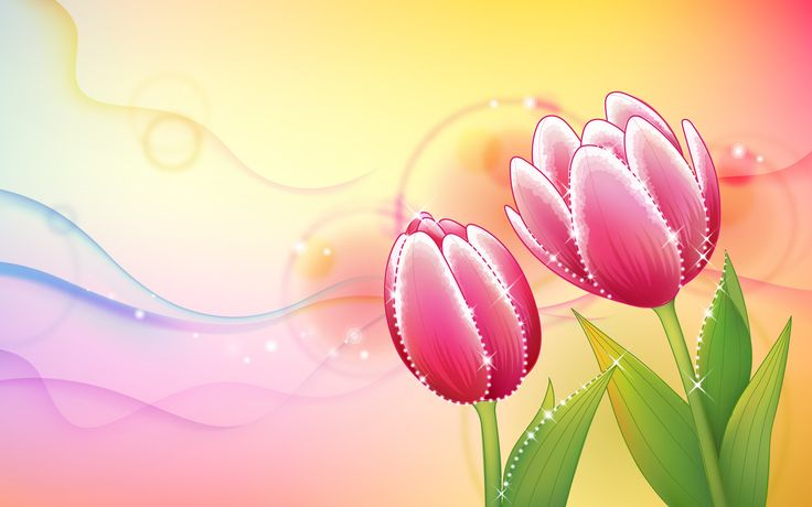 Beautiful Abstract Flowers Design Wallpapers HD Widescreen Desktop | Abstract HD Wallpapers 7
