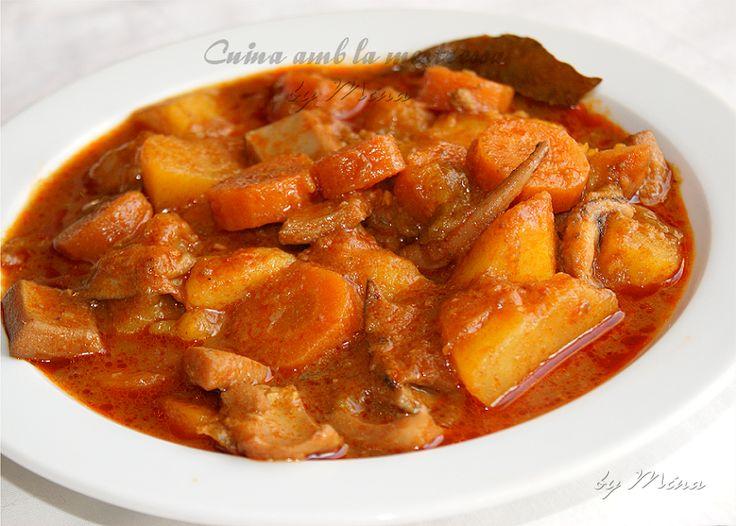 Estofado De Patatas Con Sepias/chocos...