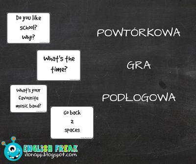 English Freak: CZY TO TYLKO POWTÓRKOWA GRA PODŁOGOWA? - IS IT ONL...