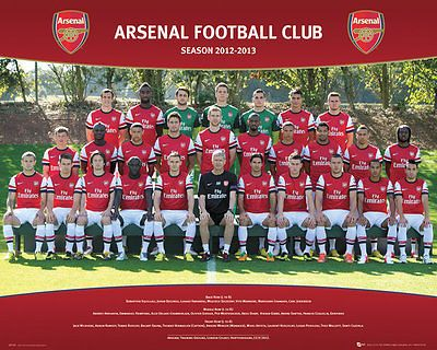 Arsenal - team #12/13 #poster - #40x50cm,  View more on the LINK: 	http://www.zeppy.io/product/gb/2/232105982680/