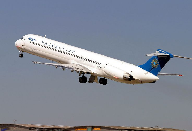 Macedonian Airlines MD-82 (DC-9-82) [ZS-OBF]