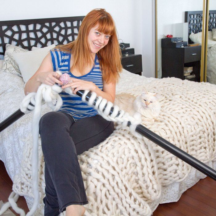 The resources you need to learn how to knit a chunky knit blanket such as where to buy chunk yarn and a chunky knit blanket pattern,and a YouTube pattern.