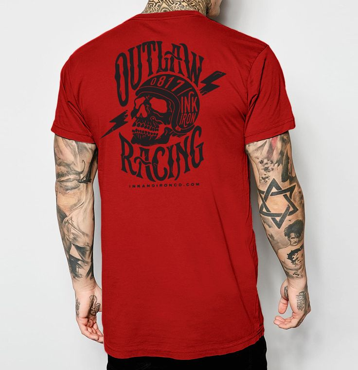 Outlaw Racing - Mens Jersey T-Shirt