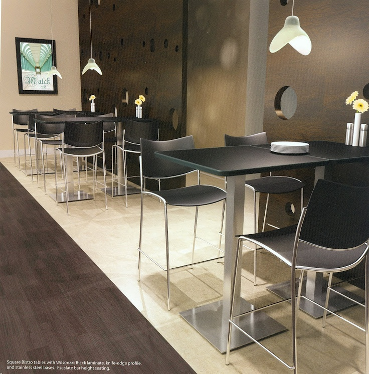 Mayline Lunchroom And Breakroom   Cafe Bistro Furniture