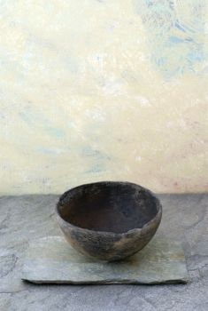 Wabi Sabi Bowl: The beauty of imperfection - the 'flaw' that makes this unique.