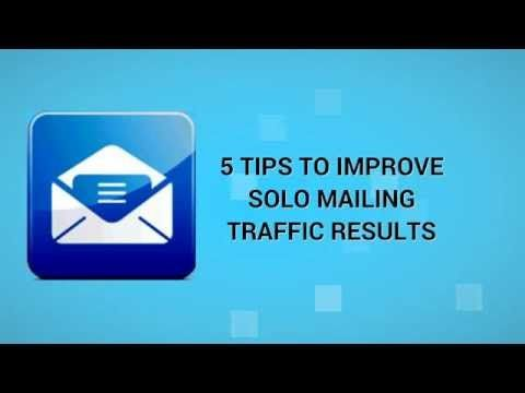 How to Improve Solo Mailing Traffic Results