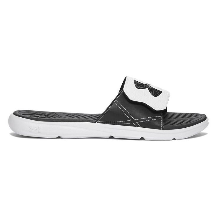 Under Armour CF Force II Men's Slide Sandals, Size: 11, White, Durable