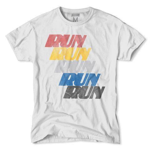 Vintage 70s Run Repeat Marathon T-Shirt