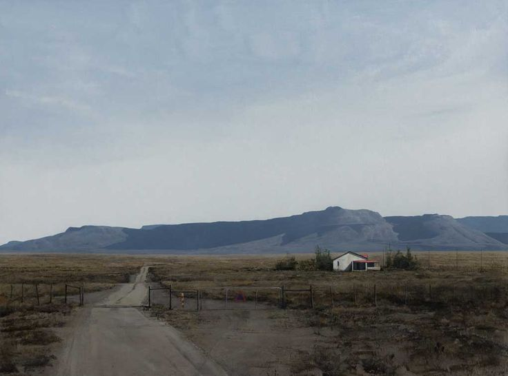 """South African Artists Karoo landscape entitled 'A Remote Place"""""""