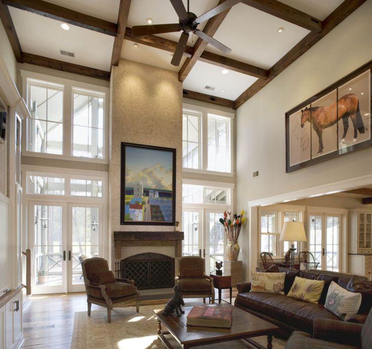 25 Elegant Ceiling Designs For Living Room: Best 25+ High Ceiling Lighting Ideas On Pinterest