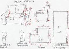 El Rincon de Ana Maria : Como hacer los forros para tus muebles