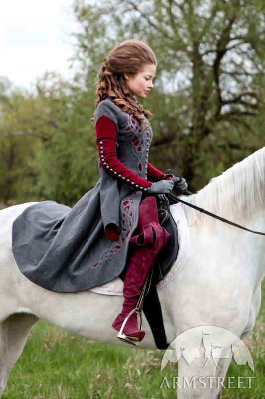 Renaissance Reitstiefel Fantasie Kleidung Renaissance