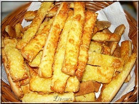 Limara péksége: Gyors, ropogós sajtos szál