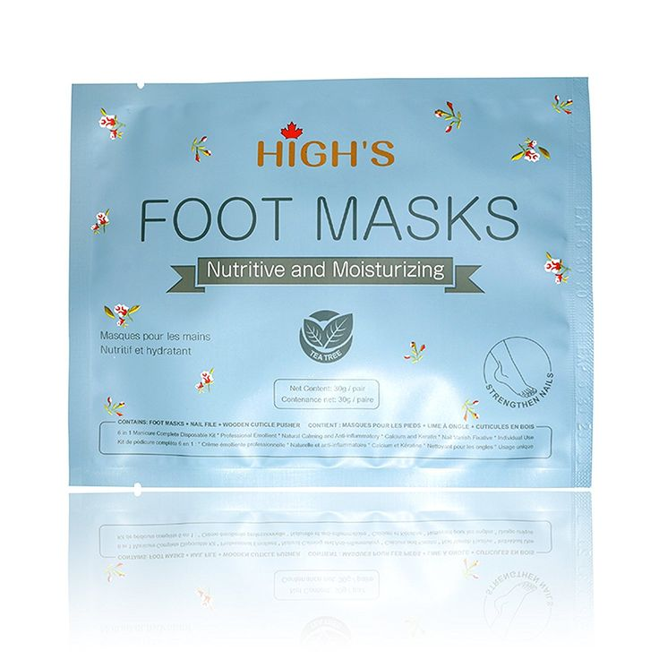 HIGH'S Nutritive Home Spa Manicure Hand Mask Moisturizing Socks, Normal * Want additional info? Click on the image.
