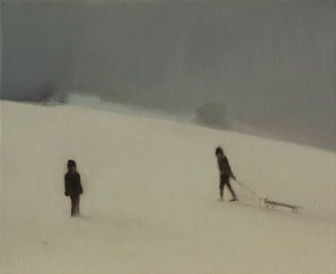 "Saatchi Art Artist Marta Zamarska; Painting, ""Winter Impression 6"" #art"