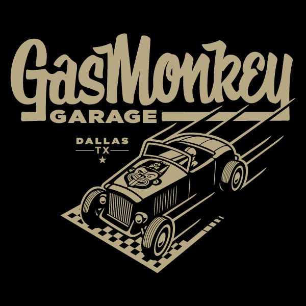 Gas Monkey Garage by Clark Orr