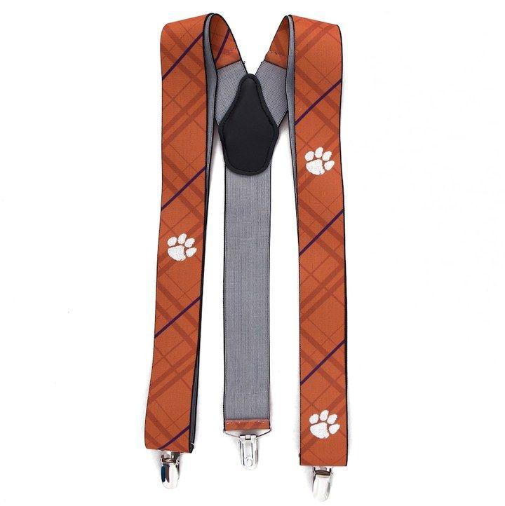 Kohl's Men's Clemson Tigers Oxford Suspenders