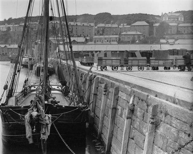 Slate Wharf - Porthmadog Harbour
