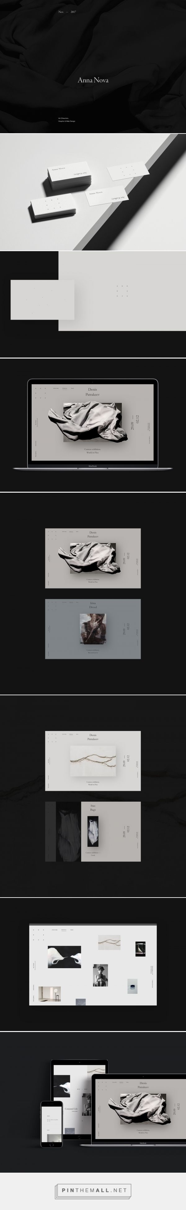 Anna Nova Art Gallery on Behance... - a grouped images picture - Pin Them All