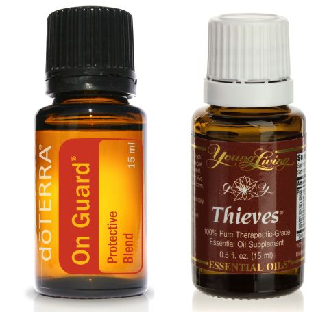 copycat recipe: doTERRA's On Guard and Young Living's Thieves oils
