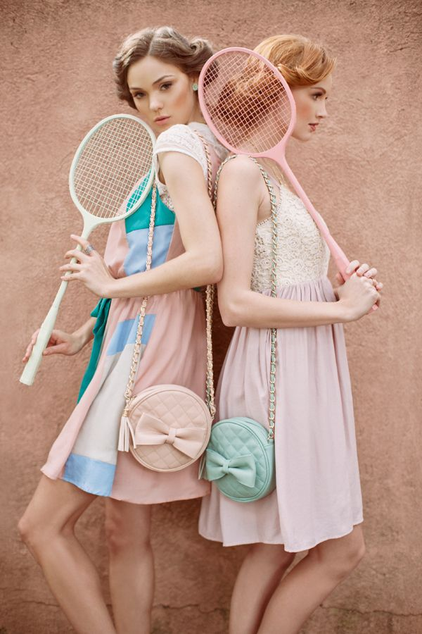 かわゆいバドミントン Pastel Spring Fashions by Ruche | photography by this modern romance