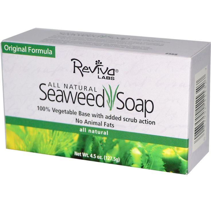 Reviva Labs Seaweed Soap All Vegetable Bar