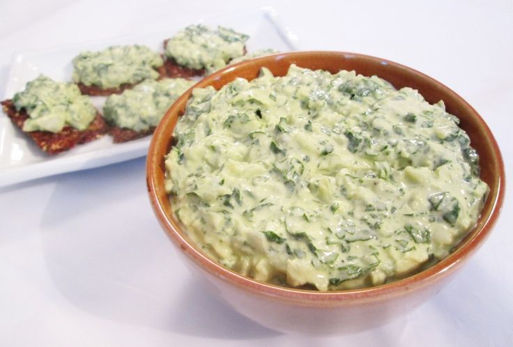 Raw Spinach Dip Recipe. Made this and it turned out better then I anticipated. Just like the real thing.