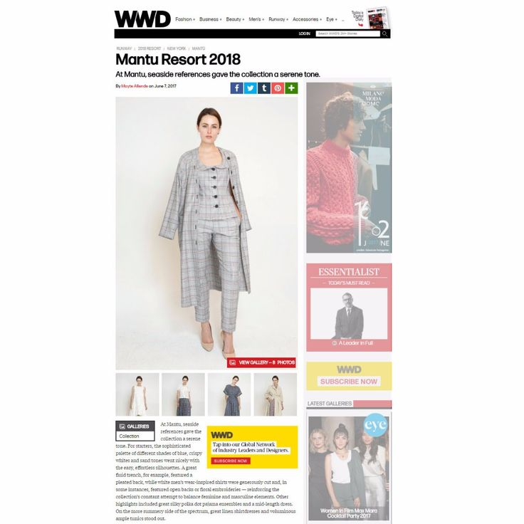 WWD collection review #newcollection #resort2018 #trend #showroom @wwd @M5_showroom @M5_dragonestudio @m5shop.nyc