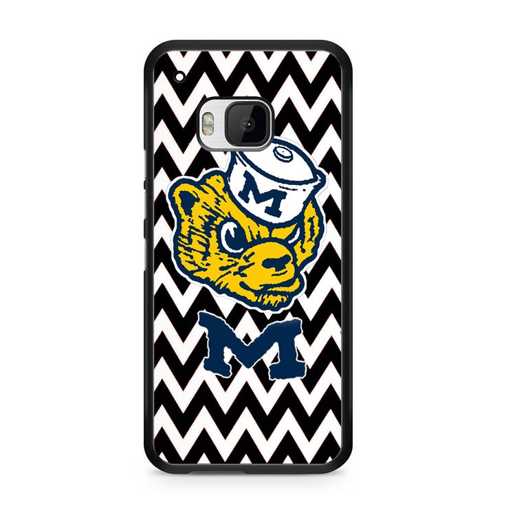 Michigan Wolverines Logo For HTC One M9 Case