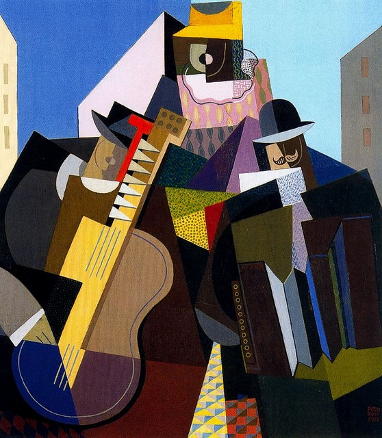 Pettoruti, Emilio (1892-1971) - 1927 The Song of the People (Private Collection) by RasMarley, via Flickr