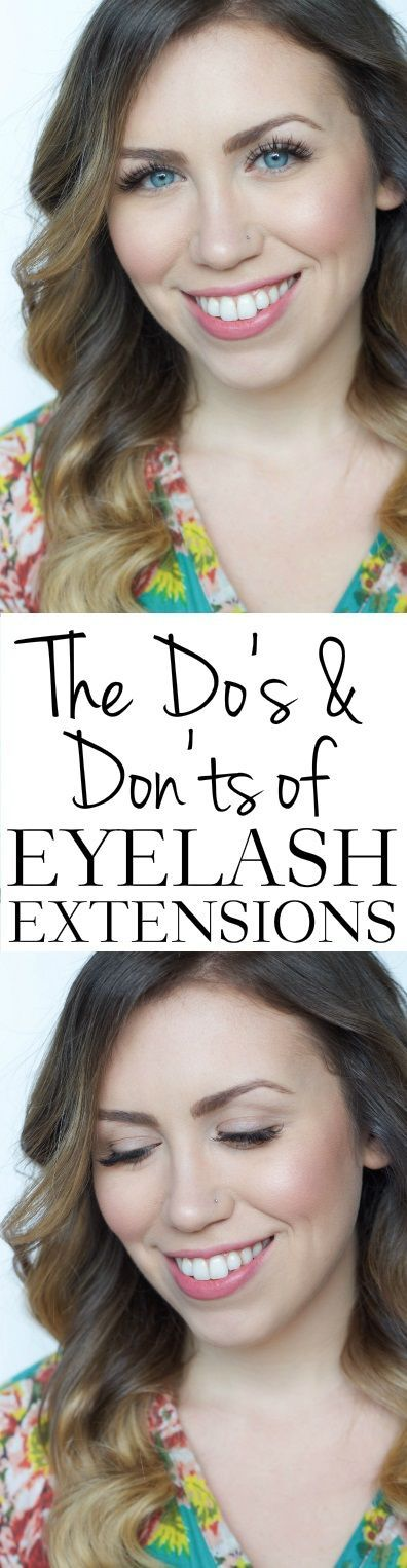 The Do's and Don'ts of Eyelash Extensions | Everything To Know Before Getting Eyelash Extensions | Beauty FAQs on Living After Midnite by Jackie Giardina